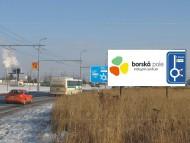 Billboard v Plzni - Borská pole